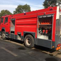 Buy cheap 4x2 6-10 Cbm Special Purpose Truck Fast Moving Airport Fire Truck With PSP1600 from wholesalers
