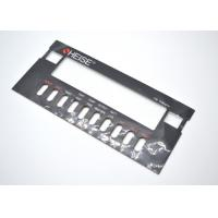 Flat Non Tactile Membrane Panel Switch With Clear Display Window On Graphic Overlay