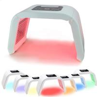 Buy 4 Color Anti Aging Light Pdt Photon Therapy LED Facial Machine Pigment Removal at wholesale prices