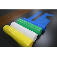 China Oil Proof Disposable Poly Aprons Without Sleeves Embossed / Smooth Surface on sale
