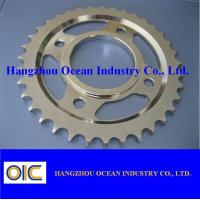 China Motorcycle Sprockets , type Middle East A100 CG125-CDI YB100 on sale