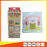 Buy cheap Cartoon Custom Printed Resealable Bags With Zipper Top For Food / Candy / Cookies from Wholesalers