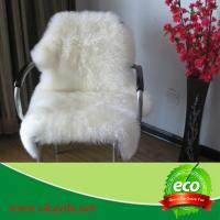 Quality luxury long wool high quality sheep fur rug sheepskin rugs made in China for sale