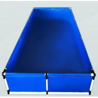 Quality Above Ground Small Plastic Fish Pond , Water Storage Tanks Laminated Tarpaulin for sale