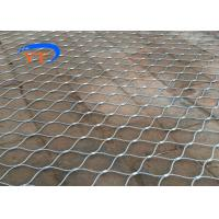 China Decorative Balustrade Cable Mesh , SS X Tend Wire Rope Net CE / SGS Certified on sale