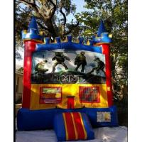 China Exciting Inflatable Bouncer House , Teenage Mutant Ninja Turtles Bouncer on sale