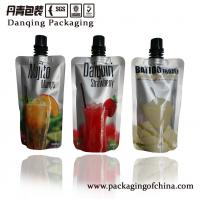 Quality flexible packaging,aluminum foil stand up pouch with spout, wine bag with spout for sale