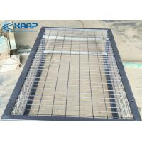 China 50x50mm Square Welded Mesh Gabion Weather Proof For Site Construction on sale