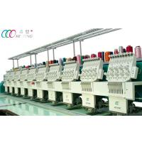 Quality 10 Heads Computerized Flat Embroidery Machine With Servo Motor for sale