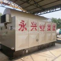Quality Straw Ricehusk Biomass Steam Generator 1600 Kg H In Alcohol Factory for sale