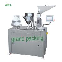 China Skin Care Products Small Hand Semi Automatic Capsule Filling Machine Of Stainless Steel on sale