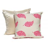 Embroidered Decorative Cushion Covers 100% Cotton Couch Throw Pillows