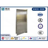 Quality Soundproof Stainless Steel Entry Door / Anti Theft Fire Rated Metal Doors for sale