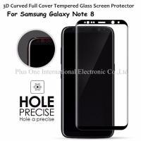 China 3D Full Cover Tempered Glass Screen Protector 0.33mm 9H Anti Shock Case Friendly for Samsung Galaxy Note 8 on sale