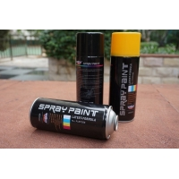 Quality SGS Gold Water Based Acrylic Spray Paint 400ml Strong Covering Power for sale