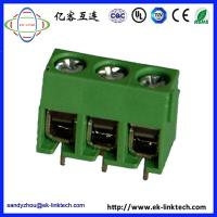 Quality F11-C-5.0  PCB Mount Screwless Spring Terminal Blocks Connectors 300V 15A for sale