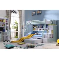 hot sell children triple bed with ladder cabinet 3 colour model 5B11
