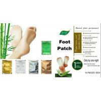 Quality Relax Health Broadcast Japanese kinoki cleansing detox foot pads patches natural for sale