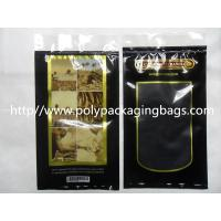 Quality Moisturized System Cigar Humidor Bags Ziplock With Slider Easy Open And Close for sale