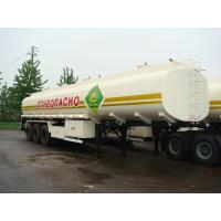 Quality 3 AXLES-Carbon Steel Tank Semi-Trailer for sale