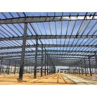 Quality Sa 2.5 Shot Blasting Steel Structure Workshop Pre Engineered Building Structure for sale