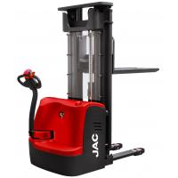 Buy Red Electric Pallet Stacker 1500KG Loading Capacity With AC Driving Motor System at wholesale prices