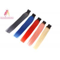 Quality Different Color Custom Human Hair Wigs Hair Bundles / Indian Hair Extensions for sale
