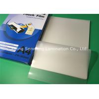 Buy cheap High Brightness 100 Micron Laminating Pouches A4 Glossy With PET EVA Material from Wholesalers