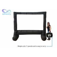 Quality Outdoor Customized Size Large Inflatable Movie Screen For Party/Backyard Festivals for sale