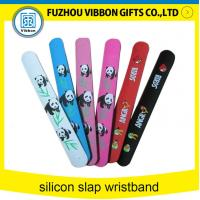 Quality Customized Printing silicone slap bands slap bracelets for sale