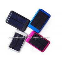 Quality Pink  Promotion Gifts Wireless Solar Energy Power Bank With CE Rohs Certification for sale