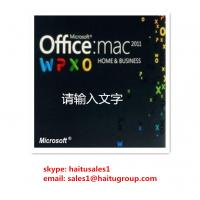 Quality Office 2011 Home And Business MAC FPP Key For Microsoft Office Product Key Codes Online Activation for sale