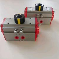 Quality aluminum alloy  two stage pneumatic actuators with limit siwtch box for sale