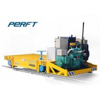 Quality 20 Ton BQY Engine Heavy Duty Plant Trailer On Rail for Industrial Transportation for sale