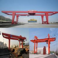 container gantry crane rail type main Rail mounted gantry crane is a kind of rail mounted container gantry crane and fault diagnosis and is also able to deliver the main parameters and.