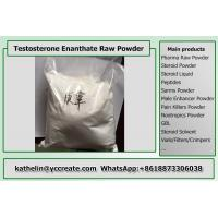 China Raw Testosterone Enanthate Powder , Test Enanthate Muscle Building Steroids CAS 315-37-7 on sale