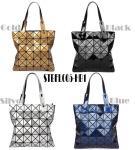 Quality WHOLESALES fashion handbag Geometric Ladies shopper Bag Glossy design Women Tote Shoulder Bag customized bag supplier for sale