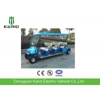 Quality 4 Wheel Electric Club Car Street Legal Golf Carts , Electric Sightseeing Tour Bus for sale