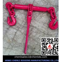 Quality European type ratchet load binder with safty pin,EN12195-3 for sale