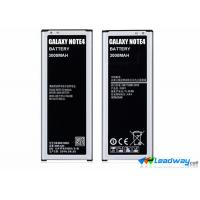 Quality Mobile Phone Samsung Galaxy Note 4 3.7V Lithium Cell Battery replacement 3220 mAh for sale
