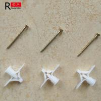 China 10*32 Plastic Wall Anchors Gypsum Board Wall Plugs 32mm Length Easy To Install on sale