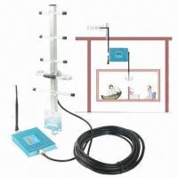 China GSM 900 Cellular Phone Signal Repeater Booster with Screen + Antenna, 100 Square Meters Co on sale