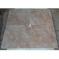 China Indoor Flooring Red Jade Marble Stone Tiles 1.0cm - 4cm Thickness Heat Insulation on sale