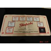 Quality Personalised Bar Mats Anti Slip Bar Runner Mats Cloth and Rubber for sale