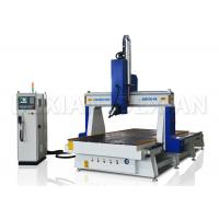 Quality 4.5kw / 9kw 4 Axis Cnc Router Machine For Woodworking Italy HSD Air Cooling Spindle for sale