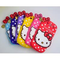 Quality lovely hello kitty silicon Case For iPhone 4 5s 6s plus SAMSUNG galaxy S6 S7 NOTE 3 5 for sale