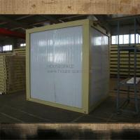 China Customized Contemporary Prefab Container House With Steel Frame For Guarding Room on sale