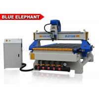 Quality 3 Axis CNC Router Wood Engraving Machine Italy Leadshine 860H Driver for sale
