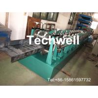 Quality Hydraulic Cutting Z Channel Purlin Roll Forming Machine With 17 Forming Station TW-Z300 for sale