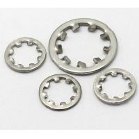 Quality M4x12 Size Stainless Steel Internal Tooth Lock Washer Zinc Plate Surface DIN6797J for sale